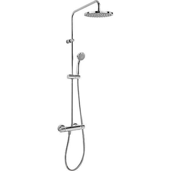 Imagen de Columna de ducha termostática Tres Griferia Flat