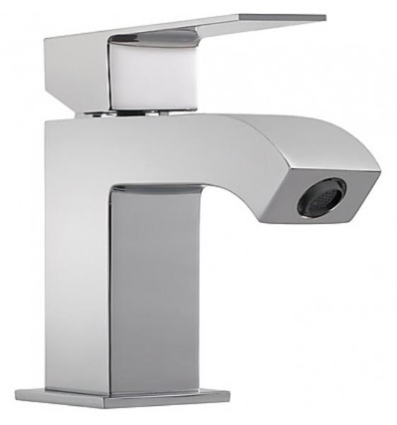 Imagen de Grifo de lavabo monomando  Tres modelo Cuadro caño aireador 1.06.103.DA