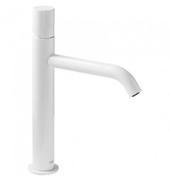 Imagen de Grifo de lavabo monomando Tres Study Blanco modelo TRES 261.307.01.TBL.D