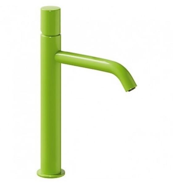 Imagen de Grifo de lavabo monomando Tres Study Verde modelo TRES 261.308.01.TVE.D