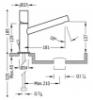 Imagen de Grifo de lavabo monomando TRES modelo 061.203.01.D