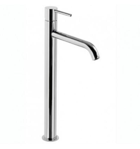 Imagen de Grifo de lavabo monomando Tres Study Acero modelo  TRES 262.308.01.AC.D