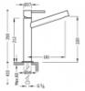 Imagen de Grifo de lavabo monomando TRES modelo 062.206.01