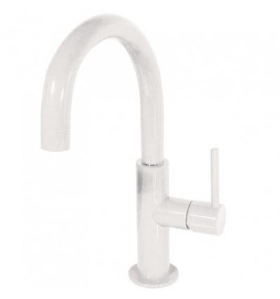 Imagen de Grifo de lavabo monomando Tres Study Blanco modelo   TRES 262.904.03.TBL.D